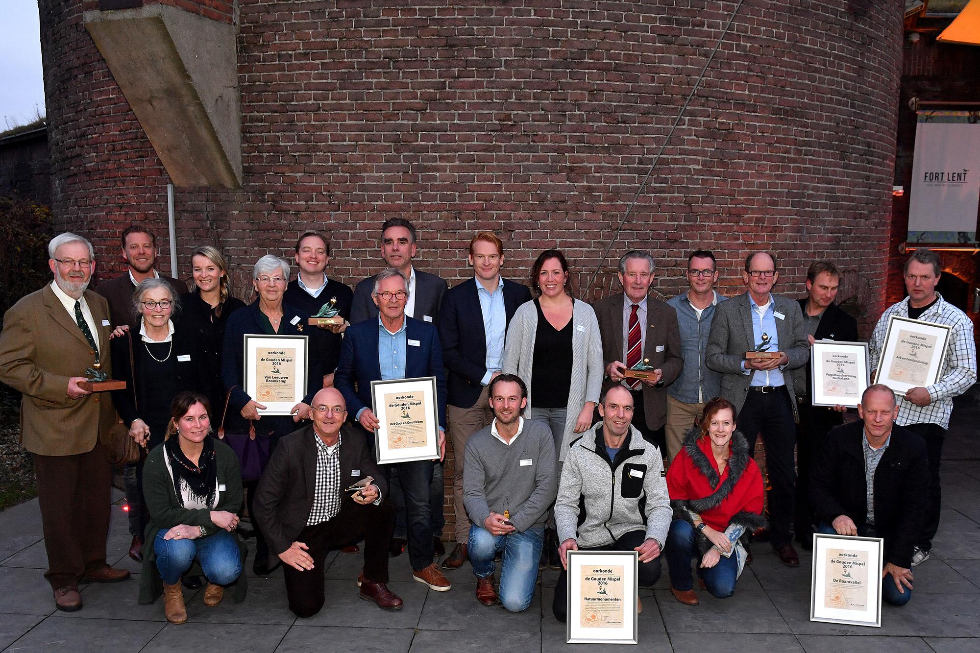 Winnaars Gouden Mispel 2016